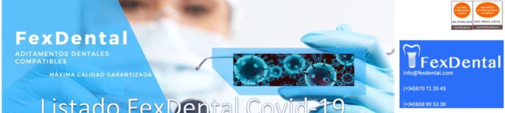, Productos Protección Covid-19. Pack odontológicos.